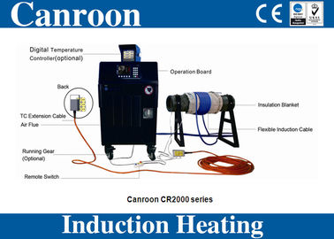 40kw air cooling induction heating machine for pipeline PWHT post weld heat treatment